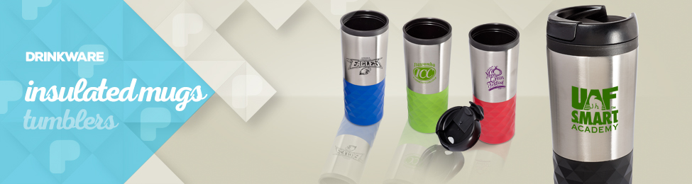 Insulated Mugs & Tumblers