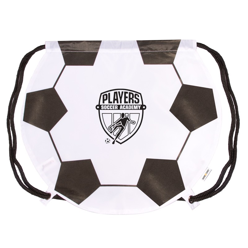 GameTime!® Soccer Drawstring Backpack