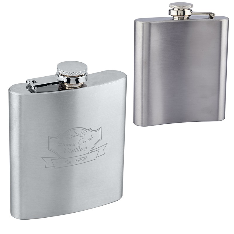 Stainless Steel Flask (6 oz.)