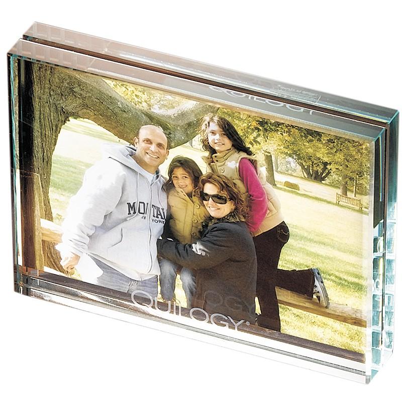 Atrium™ Glass Medium Desk Frame