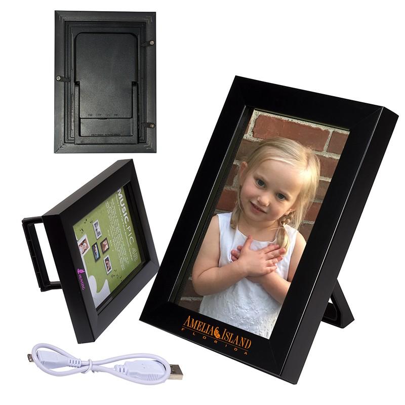 "4"" x 6"" Wireless Speaker and Frame"
