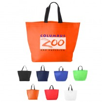 Two-Tone Heat Sealed Non-Woven Tote