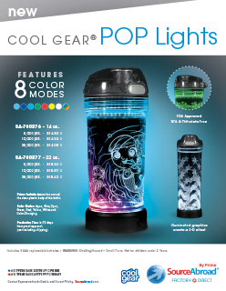 Source Abroad Pop Lights Bottle