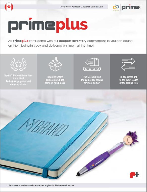 019 Prime Plus Catalogue