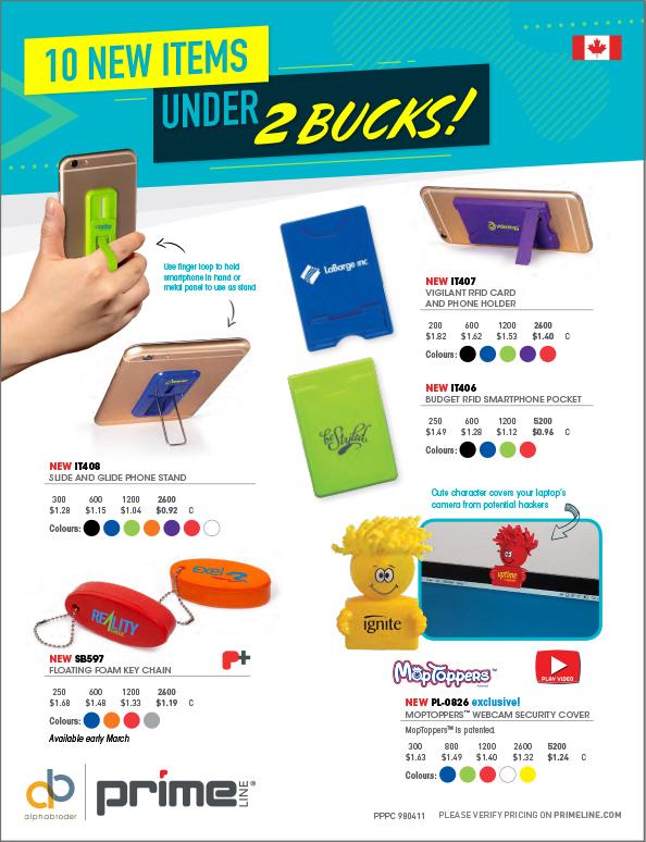 019 Items Under A Buck - CAD 42pg