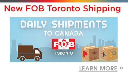 FOB Toronto Shipping Program