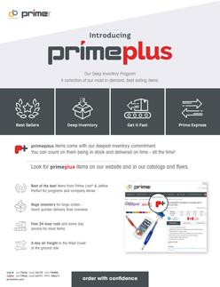 about prime plus flyer