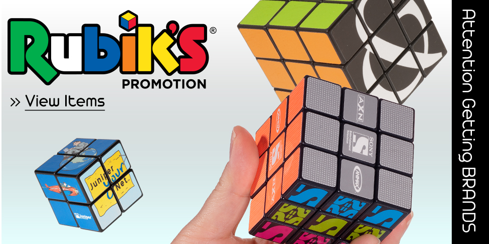 Attention Getting Brands – Rubik's® Cube